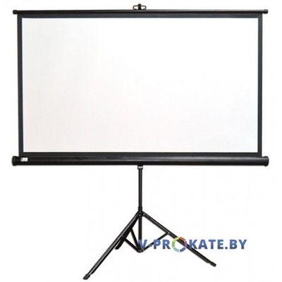 Экран на треноге 150*150 см