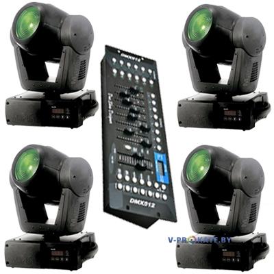 Комплект из 4-ех приборов Martin Mac 300 Pro + DMX пульт