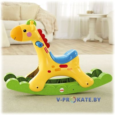 "Качалка Балансир Fisher price ""Жираф"""