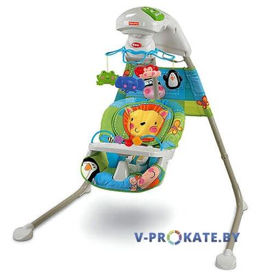 "Качели Fisher price ""Зоопарк"""