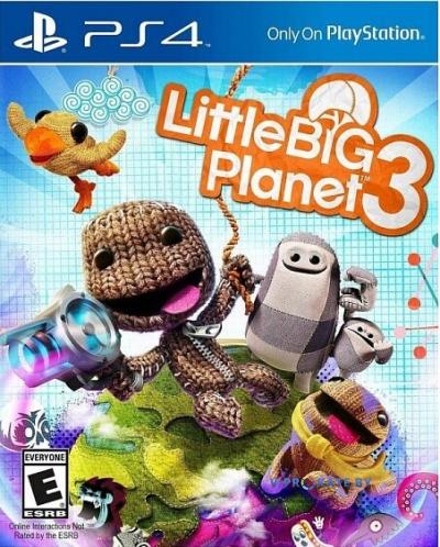 Little Big Planet 3 для Sony Playstation 4
