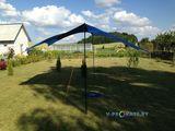 Тент туристический Sol Tent Green 4,4*4,4 м