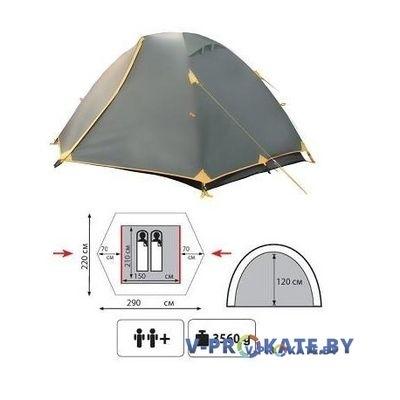 2-х местная палатка Tramp Scout 2