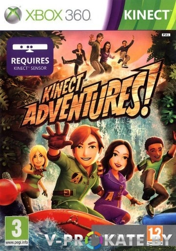 Kinect Adventures Game For Xbox 360 detail